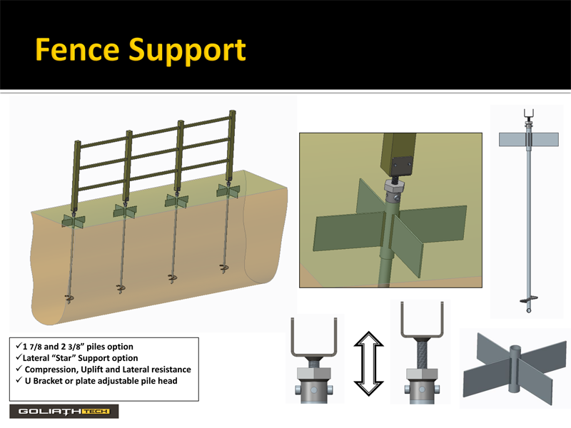 Fences Helical Pile Installation Specialist